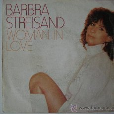 Discos de vinilo: BARBRA STREISAND / WOMAN IN LOVE. Lote 23280193