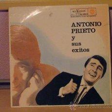 Discos de vinilo: ANTONIO PRIETO Y SUS EXITOS - RCA 1962. Lote 24577405