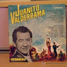 Discos de vinilo: JUANITO VALDERRAMA - CANTA - BELTER 1966. Lote 24577412