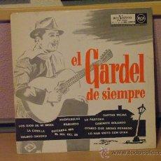 Discos de vinilo: EL GARDEL DE SIEMPRE - RCA 1962. Lote 24577439
