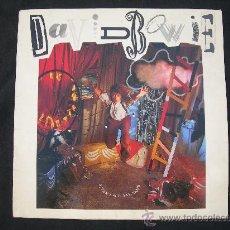 Dischi in vinile: LP DAVID BOWIE // NEVER LET ME DOWN. Lote 25171911