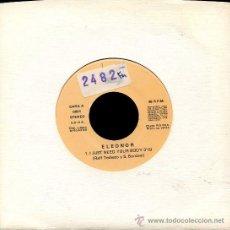Discos de vinilo: ELEONOR / I JUST NEED YOUR BODY - I JUST NEED YOUR BODY (SINGLE 1990. Lote 23300576