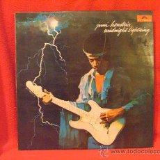 Discos de vinilo: JIMI HENDRIX - MIDNIGHT LIGHTNING - POLYDOR 1980. Lote 27418033