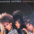 Discos de vinilo: LP - POINTER SISTERS - CONTACT - PROMOCIONAL ESPAÑOL, RCA 1985. Lote 23368462