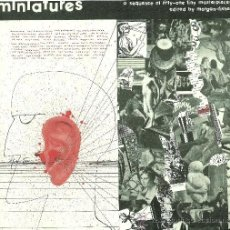 Discos de vinilo: MINIATURES A SEQUENCE OF FIFTY-ONE TINY MASTERPIECES (VINILO 1981). Lote 23387503