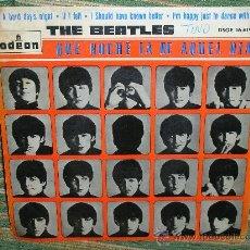 Discos de vinilo: THE BEATLES EP - ORIGINAL ESPAÑOL - ODEON 1964 - ETIQUETA AZUL OSCURO.. Lote 26454359