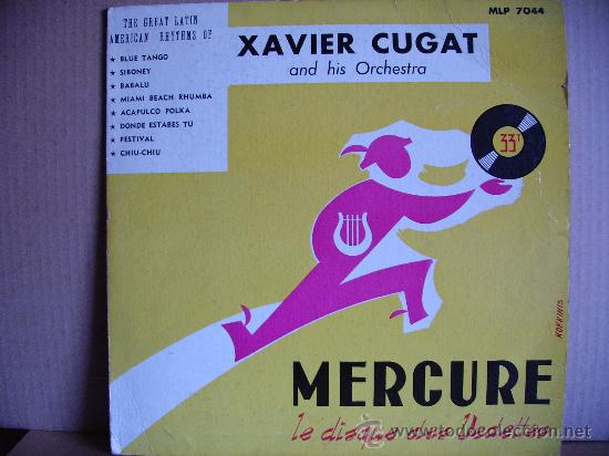 XAVIER CUGAT ---- AND HIS ORCHESTRA - 10 INCH (Música - Discos - LP Vinilo - Orquestas)