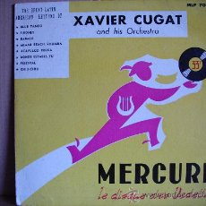 Discos de vinilo: XAVIER CUGAT ---- AND HIS ORCHESTRA - 10 INCH. Lote 23395858