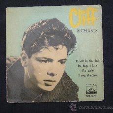 Discos de vinilo: EP CLIFF RICHARD // BE-BOP-A-LULA + 3. Lote 25449555