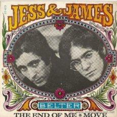 Discos de vinilo: MOD / FREAKBEAT / SOUL: JESS & JAMES - THE END OF ME / MOVE. Lote 23415265