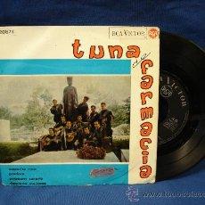 Discos de vinilo: - TUNA DE FARMACIA - AMPARITO ROCA+3 - RCA VICTOR 1965. Lote 23444254