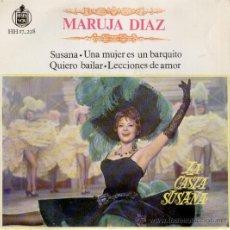 Discos de vinilo: MARUJITA DIAZ - CANCIONES DEL FILM : LA CASTA SUSANA - EP 1963. Lote 27587711