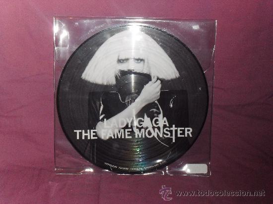 LP ALBUM LADY GAGA THE FAME MONSTER (Música - Discos - LP Vinilo - Pop - Rock Extranjero de los 90 a la actualidad)