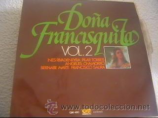 AMADEO VIVDES - DOÑA FRANCISQUITA VOL.2 - LP GRAMUSIC - GM-480 - ESPAÑA 1976 - Z1 (Música - Discos - LP Vinilo - Clásica, Ópera, Zarzuela y Marchas)