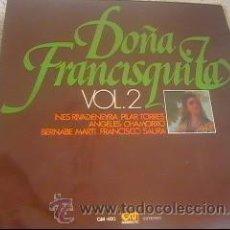 Discos de vinilo: AMADEO VIVDES - DOÑA FRANCISQUITA VOL.2 - LP GRAMUSIC - GM-480 - ESPAÑA 1976 - Z1. Lote 23440934