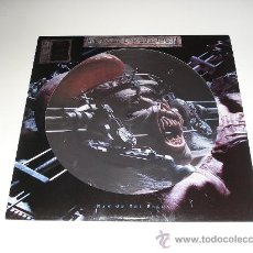 Discos de vinilo: IRON MAIDEN / MAN ON THE EDGE - RARO MAXI 3 TEMAS UK PICTURE DISC CON POSTER MEGA GIGANTE!!! NUEVO!!. Lote 26275014