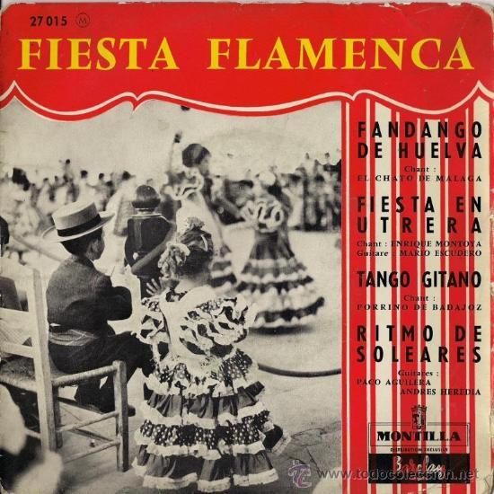 PORRINA DE BADAJOZ, ENRIQUE MONTOYA, CHATO DE MÁLAGA, MARIO ESCUDERO... EDICIÓN FRANCESA (Música - Discos de Vinilo - EPs - Flamenco, Canción española y Cuplé)