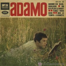 Discos de vinilo: ADAMO - EN BANDOULIERE. Lote 23499913
