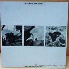 Discos de vinilo: LP - VICTOR MANUEL - QUE LE PUEDO DAR - 9 CANCIONES - ED. ARIOLA - AÑO 1988. Lote 23514369