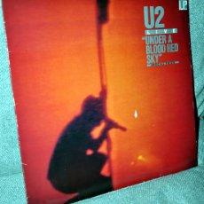 """Discos de vinilo: U2 - LIVE - UNDER A BLOOD RED SKY - MINI LP - VINILO 12"""" - 8 TRACKS - EDITADO EN ALEMANIA - AÑO 1983. Lote 24833865"""