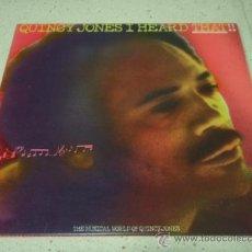 Discos de vinilo: QUINCY JONES – I HEARD THAT!!, UK 1976 A&M RECORDS. Lote 23537482