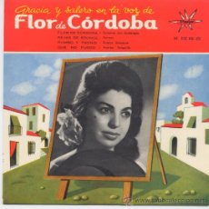 Discos de vinilo: FLOR DE CORDOBA,FLOR DE CORDOBA DEL 64. Lote 23541884