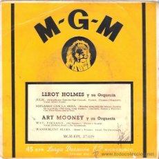 Discos de vinilo: EP LEROY HOLMES - JULIE- SOPLANDO CON LA BRISA - WAY PAESANO - WANDERLUST BLUES. Lote 23550546