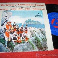 """Discos de vinilo: JUAN DEL CAMPO/JULIO URIBE/JOSE Mª MAIZA ZORTZICOS Y CANCIONES VASCAS 7"""" EP 1963 COLUMBIA GETARIA. Lote 24905992"""