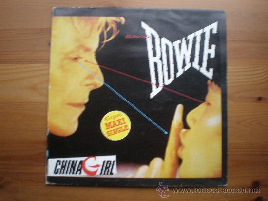 DAVID BOWIE - CHINA GIRL - (ESPAÑA-EMI-1983) ROCK - MAXI LP (Música - Discos de Vinilo - Maxi Singles - Pop - Rock Extranjero de los 70)