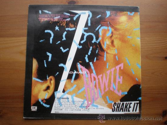 Discos de vinilo: DAVID BOWIE - CHINA GIRL - (ESPAÑA-EMI-1983) ROCK - MAXI LP - Foto 2 - 27518443