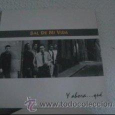 Discos de vinilo: SAL DE MI VIDA - ¿Y AHORA QUE? - LP ALADISA ESPAÑA 1993 - ENCARTE CON LETRAS - LS1. Lote 23590827