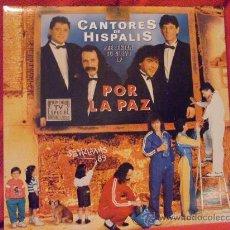 Discos de vinilo: CANTORES DE HISPALIS - POR LA PAZ - 2 LPS - HISPAVOX 1988. Lote 23593062
