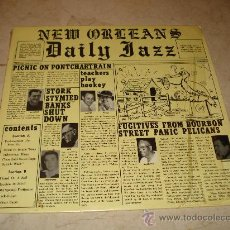 Discos de vinilo: THE LAKEFRONT LOUNGERS - NEW ORLEANS DAILY JAZZ - GHB RECORDS. Lote 23600657