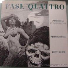 Discos de vinilo: FASE QUATTRO - UNDERGROUND - GARAGE ITALIANO - EP 1997. Lote 23601472