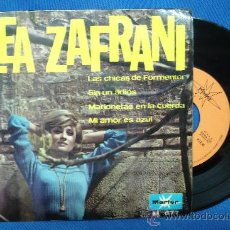 Discos de vinilo: - LEA ZAFRANI - LAS CHICAS DE FORMENTOR + 3 - MARFER IBEROFON M.677 AÑO1967. Lote 25712405