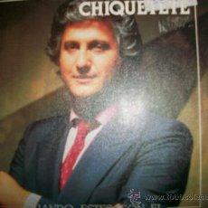 Discos de vinilo: CHIQUETETE SINGLE CUANDO ESTES CON EL. Lote 26287590