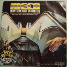 Discos de vinilo: MECO - THEME FROM CLOSE ENCOUNTERS - SINGLE1978. Lote 23629849