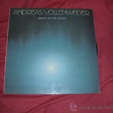 Discos de vinilo: ANDREAS VOLLENWEIDER LP DOWN TO THE MOON CBS 1986 VER FOTO ADICIONAL. Lote 23645268