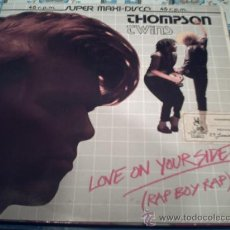 Discos de vinilo: THOMPSON TWINS-LOVE ON YOUR SIDE/LOVE ON YOUR BACK/LMAXI/DIC/10 PEPETO RECORDS. Lote 56542505