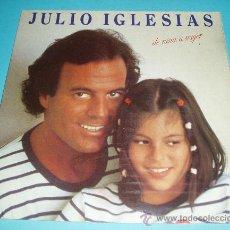 Discos de vinilo: JULIO IGLESIAS. DE NIÑA A MUJER. CBS. 1981. Lote 23674249