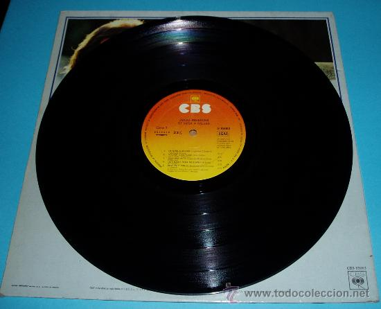 Discos de vinilo: JULIO IGLESIAS. DE NIÑA A MUJER. CBS. 1981 - Foto 2 - 23674249