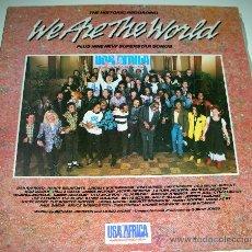 Discos de vinilo: VINILO. LP WE ARE THE WORLD. Lote 27411934