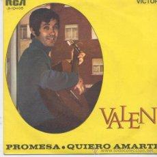 Discos de vinilo: VALEN,PROMESA DEL 69. Lote 23712272