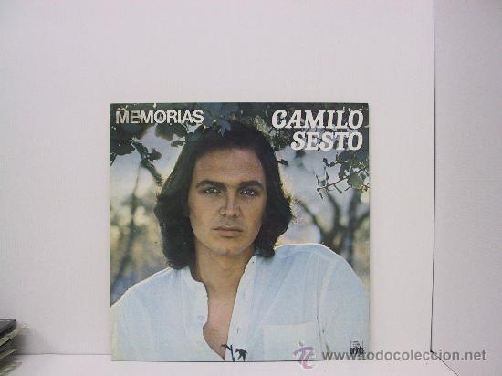 CAMILO SESTO - MEMORIAS - PORTADA ABIERTA - ARIOLA 1976 (Música - Discos - LP Vinilo - Solistas Españoles de los 70 a la actualidad)