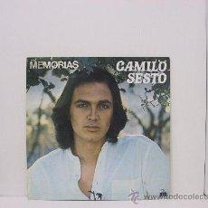 Discos de vinilo: CAMILO SESTO - MEMORIAS - PORTADA ABIERTA - ARIOLA 1976. Lote 23719564