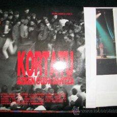 Discos de vinilo: KORTATU LP DOBLE AZKEN GUDA DANTZA. Lote 27192643