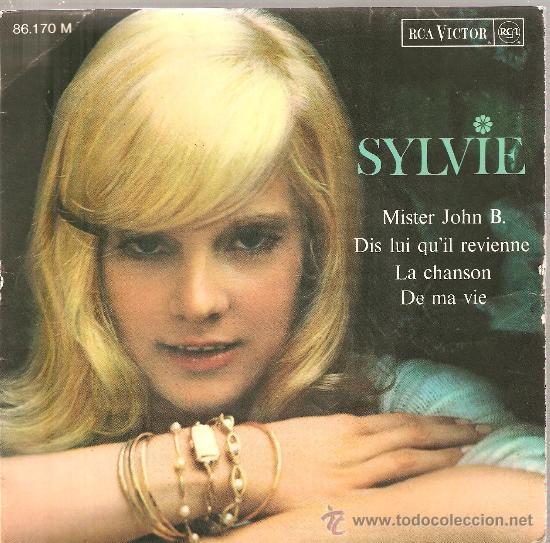 2 EP´S SYLVIE VARTAN : MISTER JOHN B. + SI JE CHANTE (Música - Discos - Singles Vinilo - Canción Francesa e Italiana)