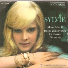 Discos de vinilo: 2 EP´S SYLVIE VARTAN : MISTER JOHN B. + SI JE CHANTE . Lote 23797176