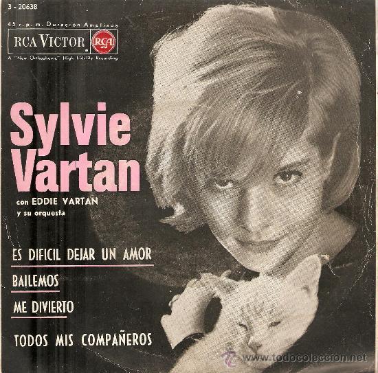 2 EP´S SYLVIE VARTAN : BREAKING UP IS HARD TO DO + C´ETAIT TROP BEAU (Música - Discos - Singles Vinilo - Canción Francesa e Italiana)