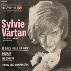 Discos de vinilo: 2 EP´S SYLVIE VARTAN : BREAKING UP IS HARD TO DO + C´ETAIT TROP BEAU . Lote 23797246